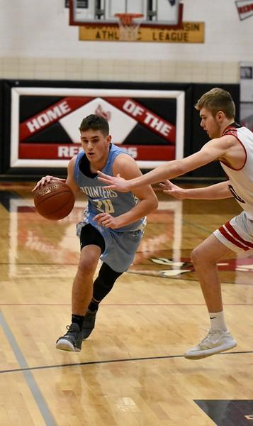 MINERAL POINT @ DARLINGTON BOYS Basketball 1-21-20