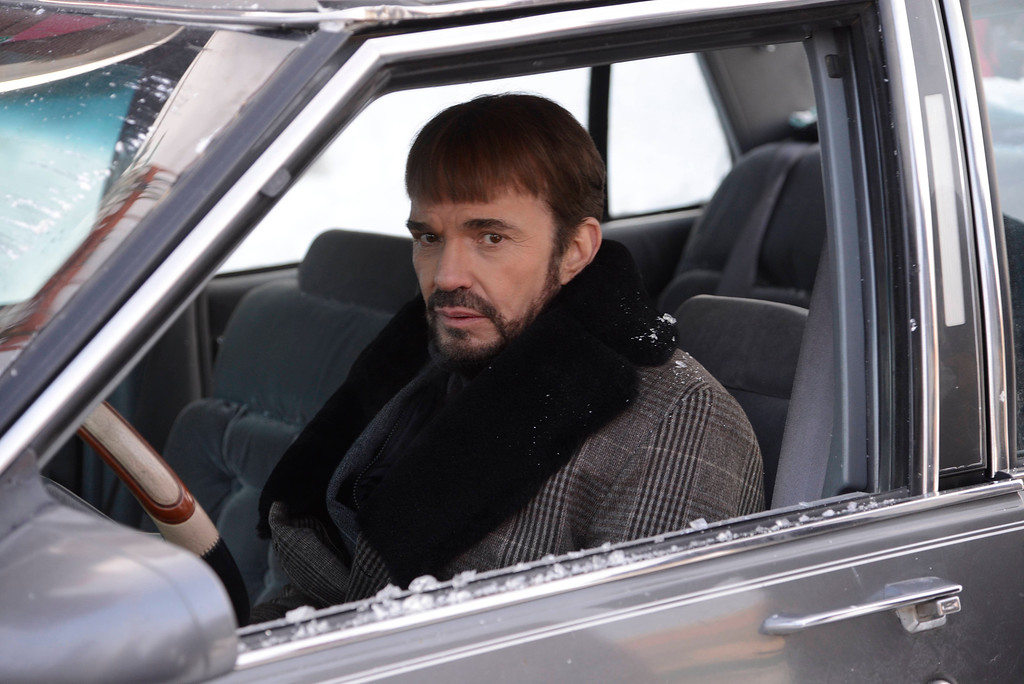 """. In this image released by FX, Billy Bob Thornton appears in a scene from \""""Fargo.\"""" Thornton was nominated for a Golden Globe for best actor in a TV movie or mini-series for his role on Thursday, Dec. 11, 2014. The 72nd annual Golden Globe awards will air on NBC on Sunday, Jan. 11. (AP Photo/FX, Chris Large)"""