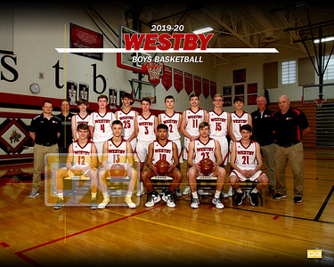 Westby boys basketball BBB1920