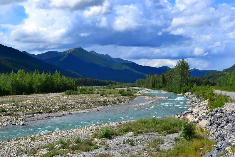 Liard River British Columbia, Canada