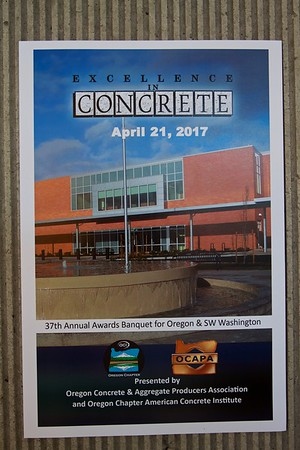 OCAPA Excellence in Concrete 2017
