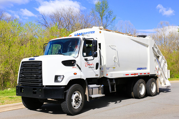 2017 April - Concord Waste Truck Photos