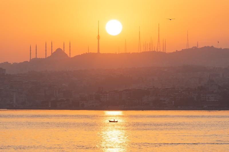 Sunrise over the Bosphorus
