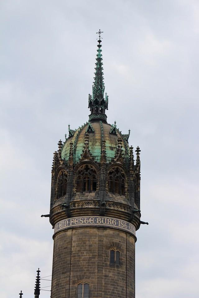 Castle Church Tower - Wittenberg