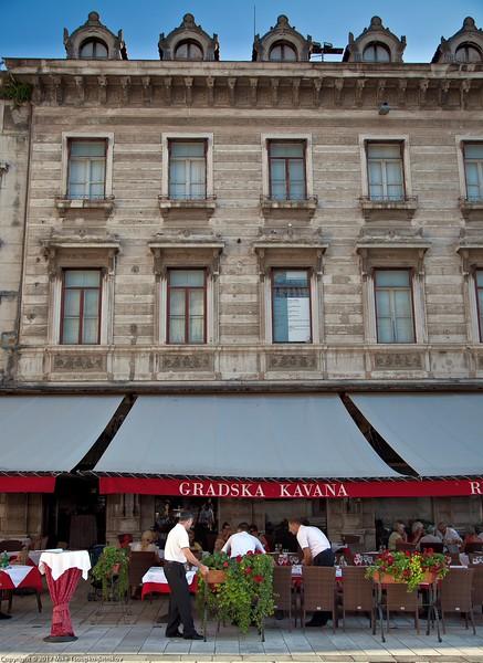 Split. Restaurant Gradska Kavana
