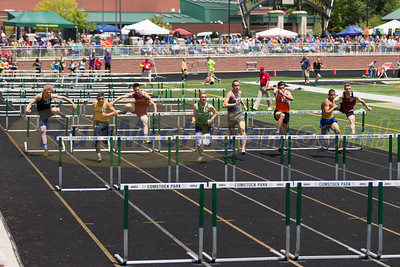 D3 Boys' 110M Hurdle Finals - 2017 MHSAA LP TF Finals