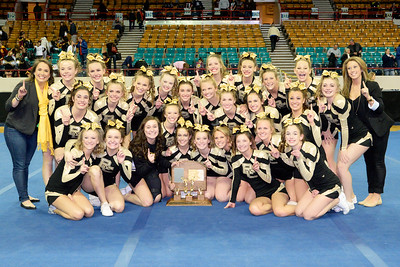 Rock Canyon High School: 5A Varsity Cheer - State Champs