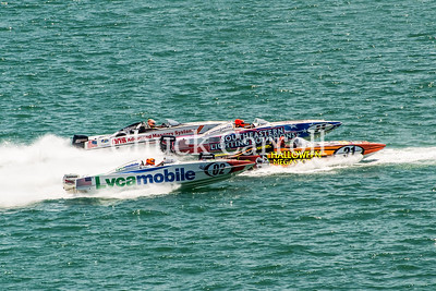 Sarasota Powerboat Grand Prix Races - Day 1 - from the Lido Beach Resort - 2015