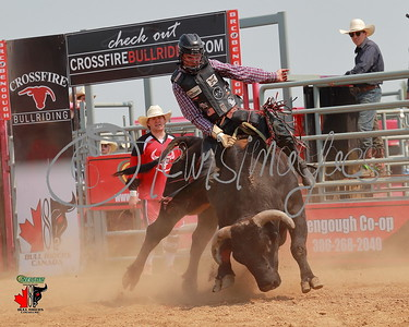 Nelson Motors and Equipment Bull Riders of Canada Bull Riding - Bengough
