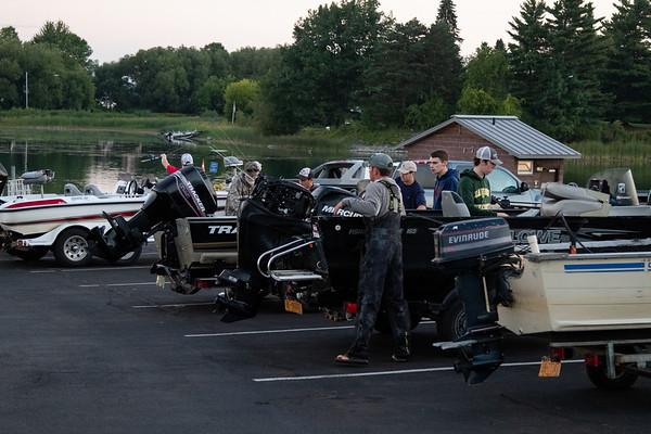 CU Bass Fishing Launch 9/16/18