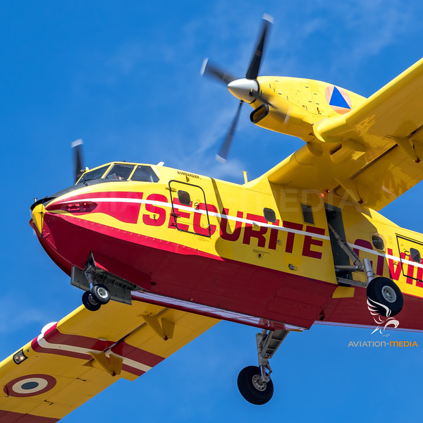 Securite Civile / Canadair CL-415 / F-ZBMG 48