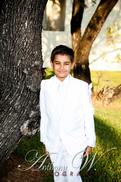 Emely and Nicholas Communion