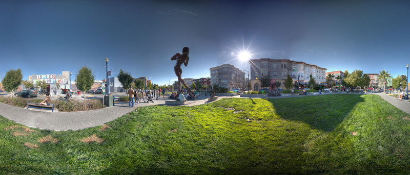 Hayes Valley Statue HDR 2 Panorama.jpg