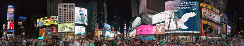 Times Square - New York, NY, USA - August 18, 2015