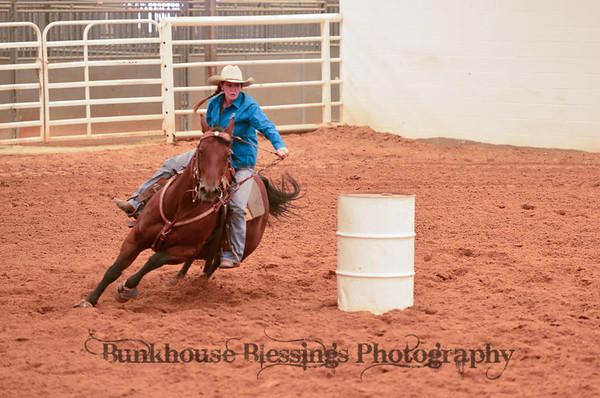 Tri-State Fair Barrel Race 2013