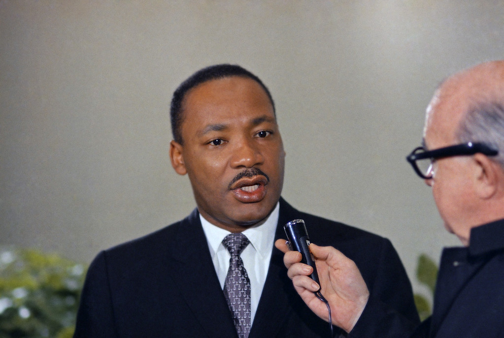 . Dr. Martin Luther King Jr. in April 1967. (AP Photo)