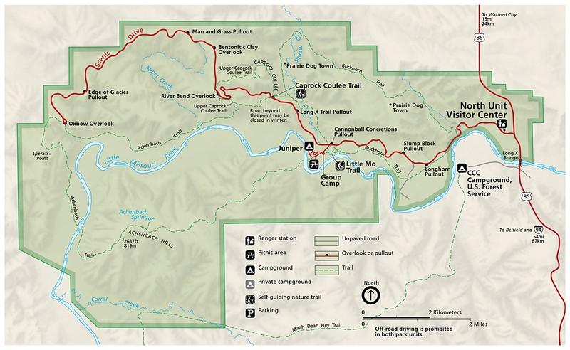 Theodore Roosevelt National Park - North Unit