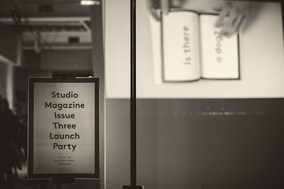 Studio Magazine Issue 3 Launch