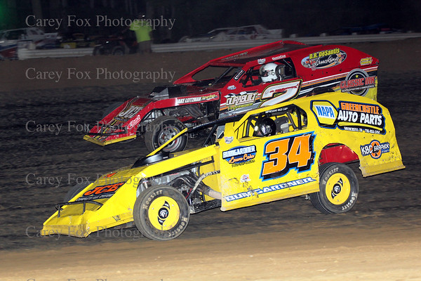August 11, 2108 - Sprints and UMP Modifieds