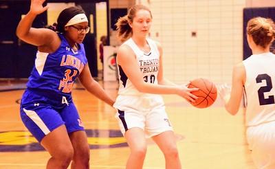 HS Sports - Lincoln Park at Trenton Girls Basketball 2020