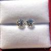 2.27ctw Transitional Cut Diamond Pair, GIA H VS2 10