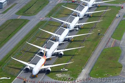 787 Dreamliners Everett 2013