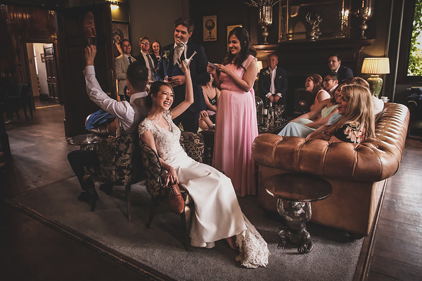 Natasha & Matt's Ellingham Hall Wedding