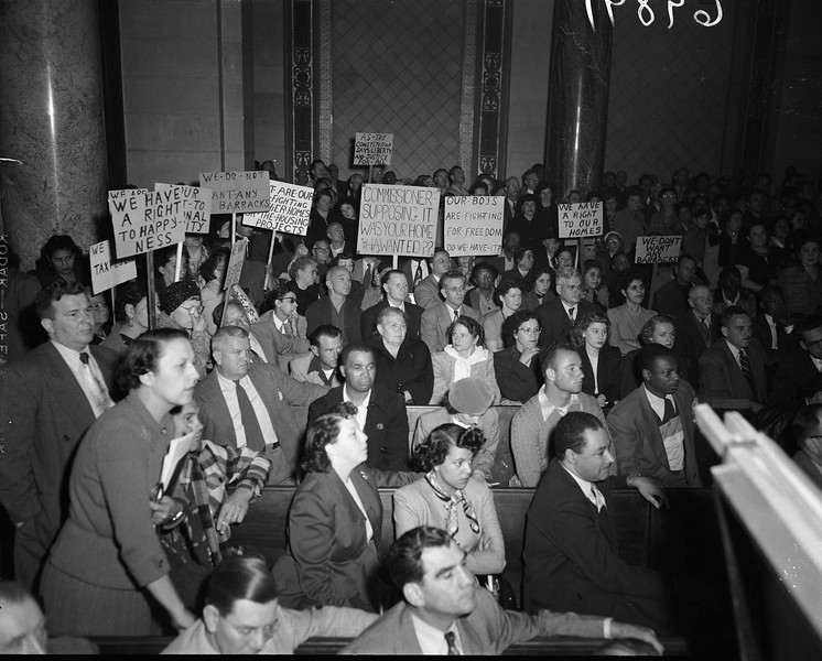 1951, Protest