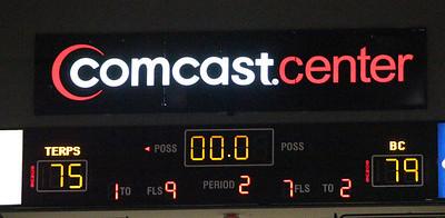 Maryland vs. Boston College