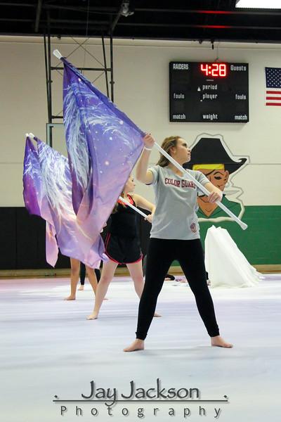 Charlotte Regional WGI - Practice Between Prelims and Finals