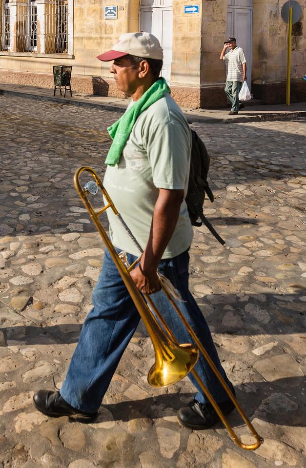 Trinidad, Cuba Musician