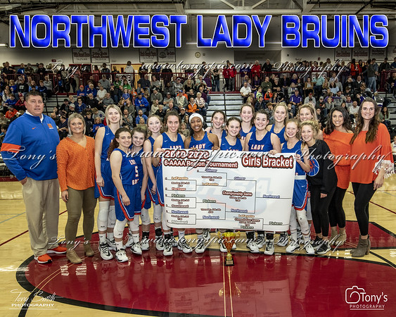 Lady Bruins Region Champs 10 Feb 2020
