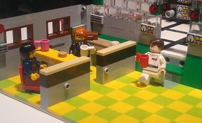AWS Snowmobile (LEGO Version)