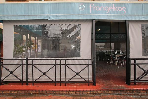 SOUTH AFRICA, Gauteng, Johannesburg, Glenhazel. Frangelicas kosher restaurant (8.2012)