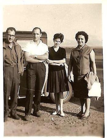 Roque, Lili,  e casal Julio da Conceicao