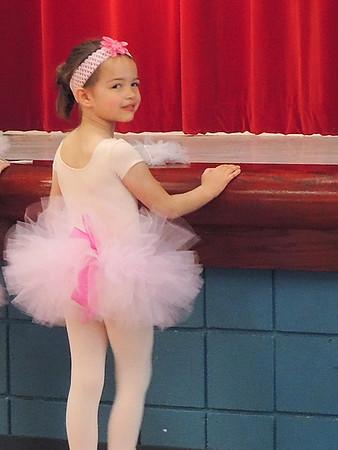 Estelle has a Ballet recital. May 4, 2018.