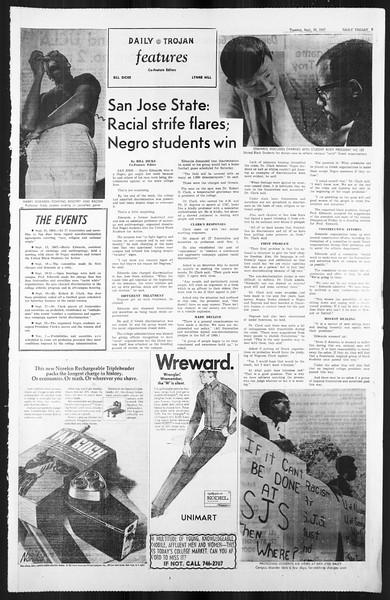 Daily Trojan, Vol. 59, No. 7, September 26, 1967
