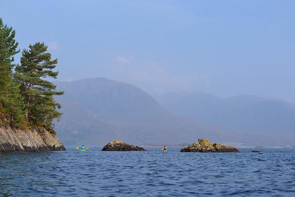 Scottish Sea Kayak Trail - Gaelic coast Sept 2014