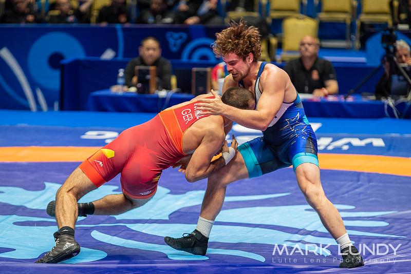 Champ. Round 2: Roland Schwarz (Germany) over Patrick Harrison Smith (United States)  •  Dec 5-3 - 2019 World Championships
