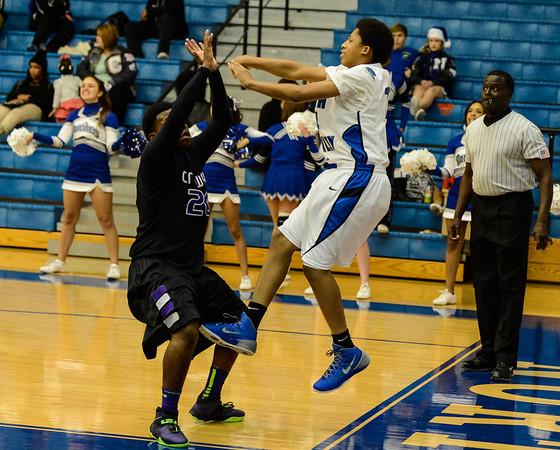 Basketball Junior Varsity vs  Crowley 12-11-13-9
