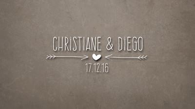 Casamento Christiane & Diego 17-12-16