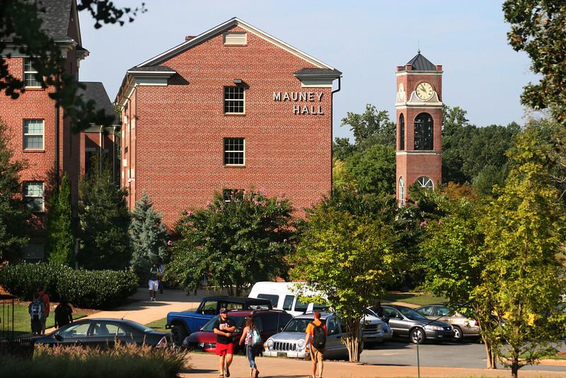 Gardner-Webb University on a September morning.