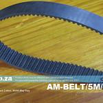 SKU: AM-BELT/5M/465, 465-5M Trapezoidal-Tooth Timing Belt, Closed -loop 5M Pitch Elastomeric Timing Belt 465mm Length