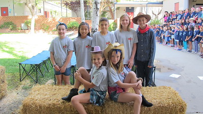Paradise Elementary Goes Country at Spirit Rally