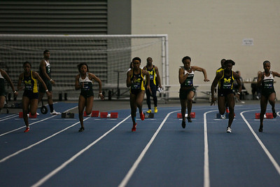 60 Meter Dash - 2013 UM vs MSU Indoor Meet