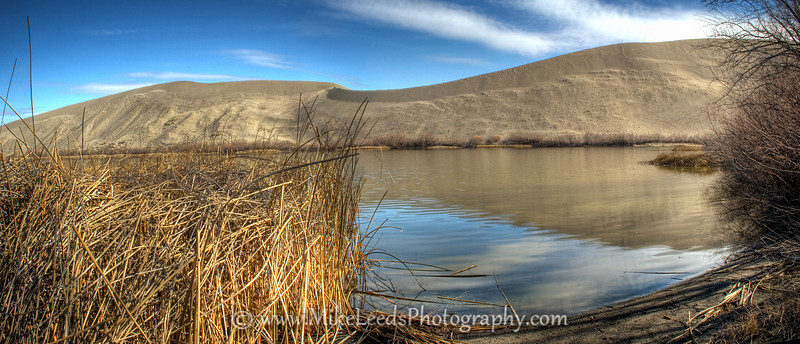 Bruneau Sand Dunes in Idaho. HDR