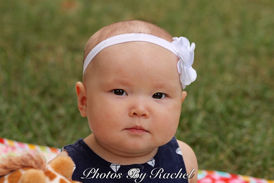 Sweet Girl's 6 Month Session