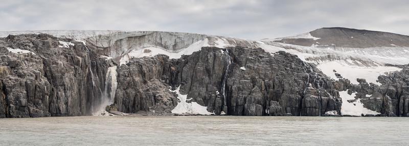 Waterfall of Svalbard