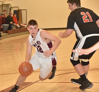 AMHS Boys Varsity Basketball vs LTS photos by Gary Baker