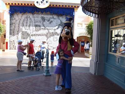 Begley family Disneyland 2005